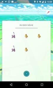 pokemon go fussspuren weg