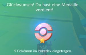 pokemon go medaillen