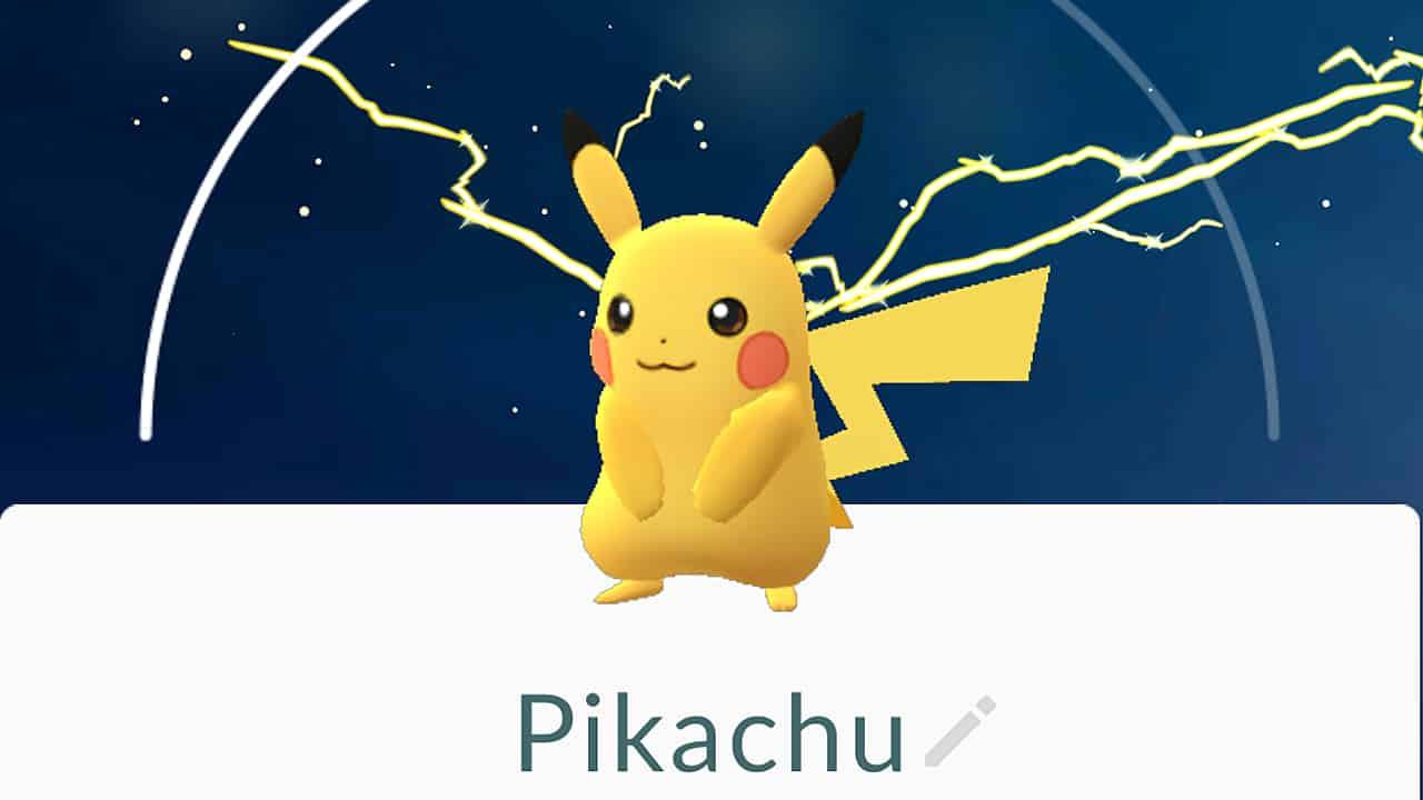 pokemon go pikachu fangen