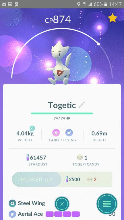 pokemon go Togetic