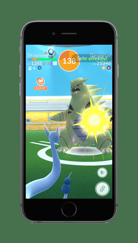 pokemon go arena raid